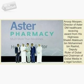Aster Pharmacy climbs up on 'Burj Kalifa' of reputation