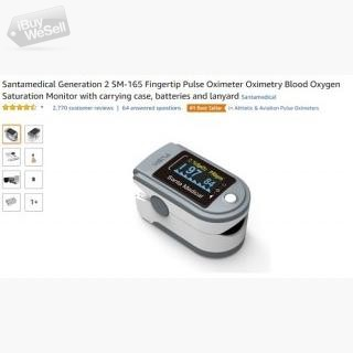 Best oxygen Saturation Monitor Available on Christmas Offer