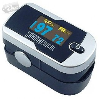 Buy now both Pulse Oximeter SM-1100S + SM-165 at $32.45