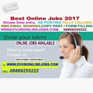 COPY-PAST JOBS AVAILABLE HOME BASED WORKS Göteborg