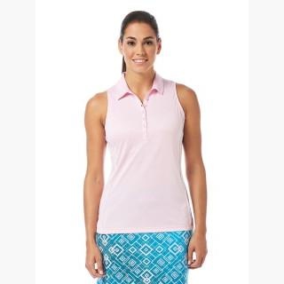 Callaway Women's Performance Piped Sleeveless Polo Shirt Sverige