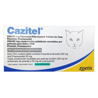 Cazitel Tablets for Cats 24 TABLET