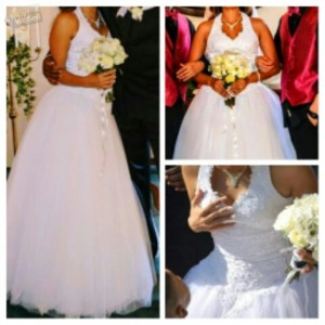 Davids bridalwedding dress