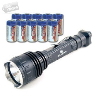 OLIGHT T10-T R5 Cree XP-G R5 + 10pcs Tenergy Propel CR123A Lithium Battery (PTC Protected) USA