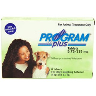 Program Plus Plus for Dogs 11 - 20lbs (Green) 6 TABLET