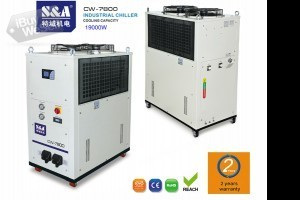 S&A Air-cooled water chiller for water-cooled computing server Kronoberg
