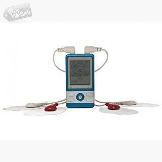 SantaMedical PM-470 Blue Tens Unit Electronic Pulse Massager