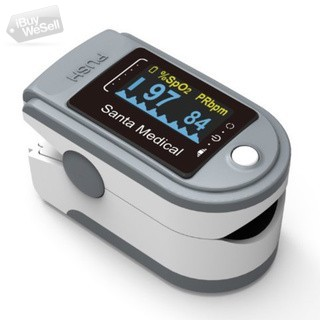 Santamedcal Finger Pulse Oximeter now on Overstock in USA