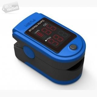 Santamedical SM-150BL Fingertip Pulse Oximeter LED Blue