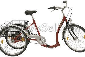 trehjulig elcykel begagnad