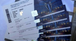 Champions League Finale Tickets