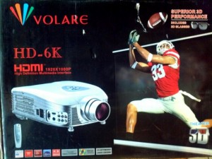Volare Projector/Screen & Icinema Sound System