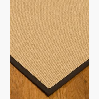 """Deco"" Sisal Rug, Natural Cotton Border, Eco-Friendly, 12' x 15'"