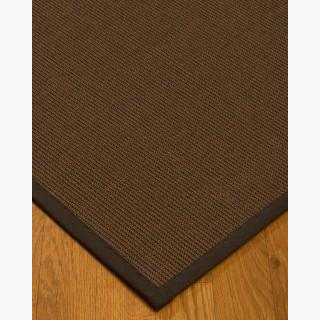 """Linden"" Sisal Rug, Tan Cotton Border, Eco-Friendly, 5' x 8'"