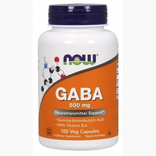 """Now Gaba - 500mg/100 Capsules"""
