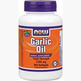 """Now Garlic Oil - 1500mg/250 SoftGels"""