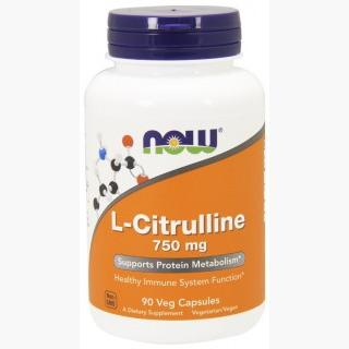 """Now L-Citrulline - 750mg/90 Capsules"""