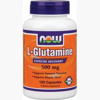 """Now L-Glutamine - 500mg/120 Capsules"""