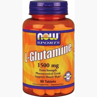 """Now L-Glutamine 1500 - 90 Tablets"""