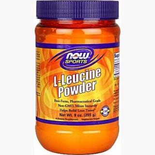 """Now L-Leucine Powder - 9 Oz."""