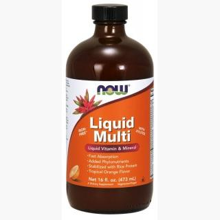 """Now Liquid Multi-Tropical Orange - 16 Oz."""