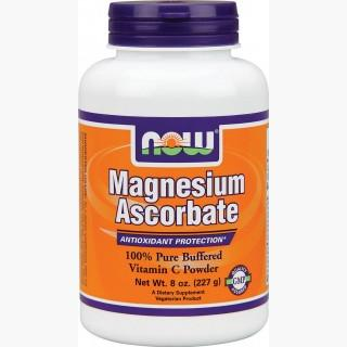 """Now Magnesium Ascorbate Powder - 227 Grams"""