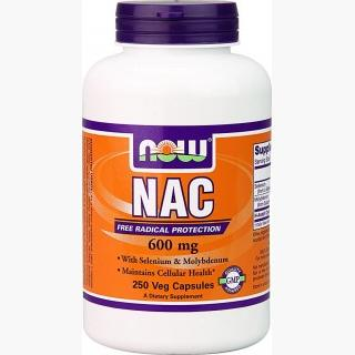 """Now NAC - 600mg/250 Capsules"""