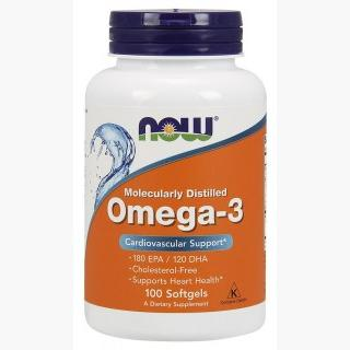 """Now Omega-3 - 1000mg/100 Softgels"""