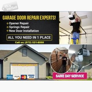 #1 Garage Door Spring Repair company | Allen, TX