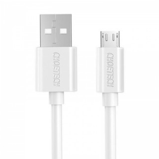 0.5M CHOETECH Micro USB 2.0 Fast Charger Data Cable 5V 2.4A Android White
