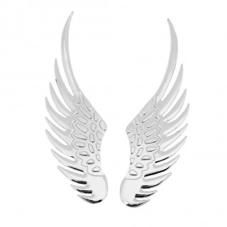 1 Pair 3D Car Stickers  Eagle Angel Wings Sticker Car Styling car body Decoration Accessories USA