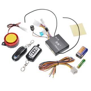 12V 125dB Two-way Motorcycle Alarm System Anti-theft For Moped Scooter