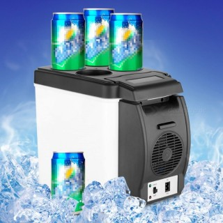 12V 6L Mini Car Fridge Auto Travel Refrigerator Cooler Freezer