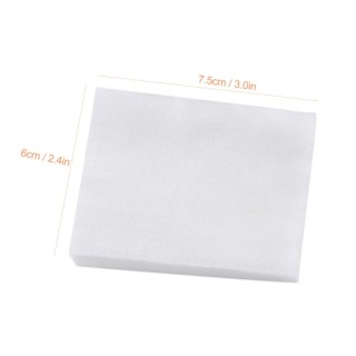 160Pcs Cotton Pads Makeup Remover Wipes Nail Polish Remover Facial Cleaning Pad Facial Tissue