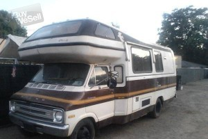 1976 Dodge Sportsman RV 21ft
