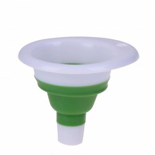 1pc Mini Plastic Foldable Portable Funnel Hopper Kitchen Measuring Tools Kitchen Cooking Tools Gadge