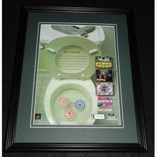 2000 Point Blank 3 Framed ORIGINAL Vintage Advertisement Playstation
