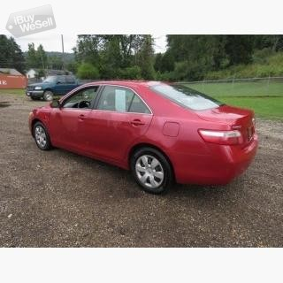 2007 red toyota camry