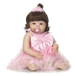 22in Reborn Baby Rebirth Doll Kids Gift All silica Gel Girl