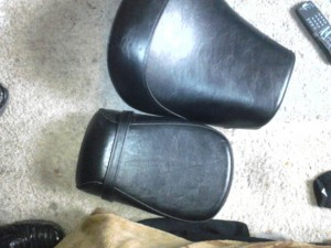 2piece mustang seats new