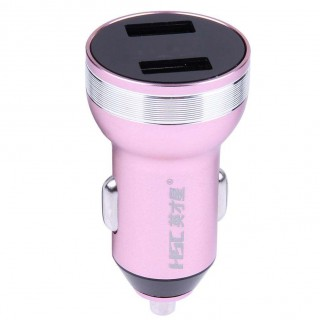 3.1A Dual USB Car Charger with LED Digital Display Car Voltage Car Charger