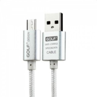 3M GOLF USB Data Sync Charger Charging Cable for Android Phone Silver