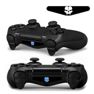 4 PCS Cool Light Bar Sticker Decal Sticker for PlayStation 4 Controller DualShock 4