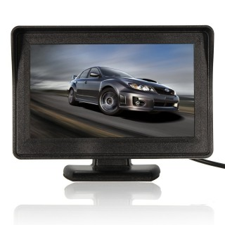 4.3 Inch Car Back Up Camera Car Rear View Monitor LCD Car Monitor