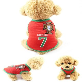 583 Creative Dog Clothes Football Basketball Pet Clothes