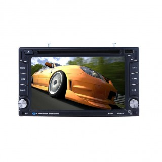 6.2 Inch HD TFT Universal Car Bluetooth DVD Player Car CD Player Car Player