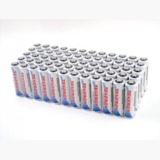 60pcs Tenergy Premium AA 2500mAh NiMH Rechargeable Batteries