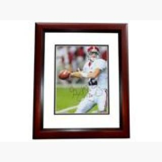 8 x 10 in. Greg Mcelroy Autographed Alabama Crimson Tide Photo, 2009 National Champion