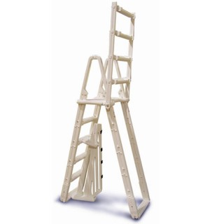 A-Frame Above Ground Pool Safety Ladder