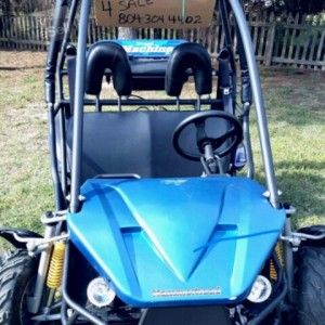 ADULT SIZED HAMMERHEAD BUGGY GL150CC WITH TITLE !